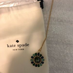 NWT Kate Spade Peacock Way Necklace